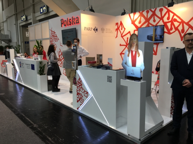 CEBIT, holohostess, hologram, wirtualna hostessa 3d,