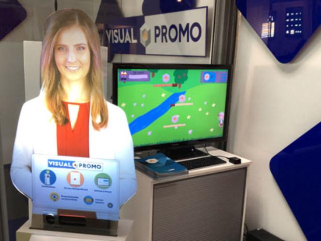 Wirtualna Hostessa 3d, targ,i rema days, hologram, gry interaktywne, wystawy
